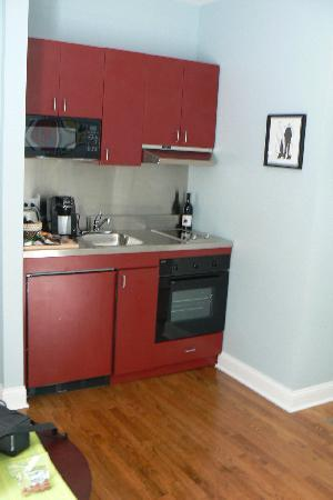 the kitchenette picture of magnolia studios chicago tripadvisor