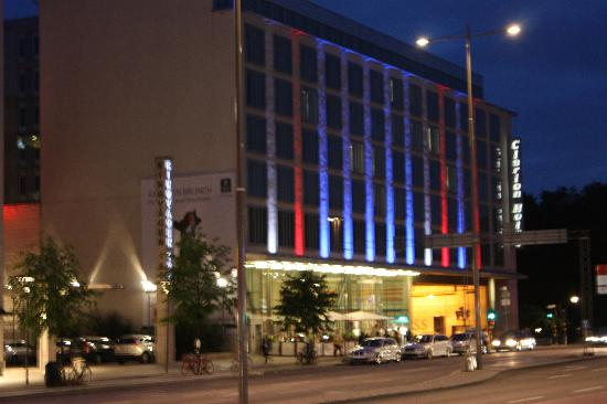 Clarion Hotel Stockholm At Night