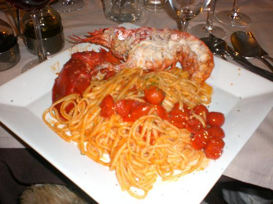 Cirò : lobster pasta