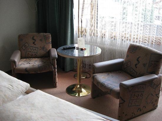 Hotel Kristall Saphir Superior : Sitzecke