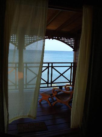 Calabash Cove Resort and Spa: view from our living room