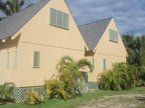 Whitesands Beach Villas: Back of Villa's