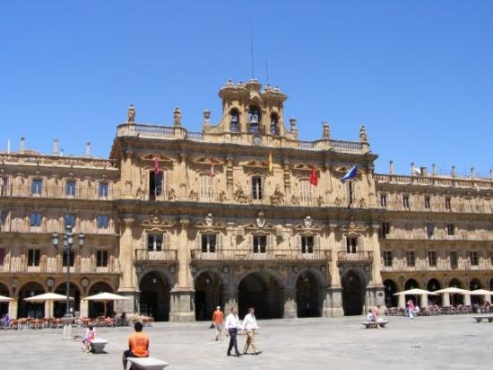 Plaza Mayor de Salamanca,la más bonita del mundo - Picture ...