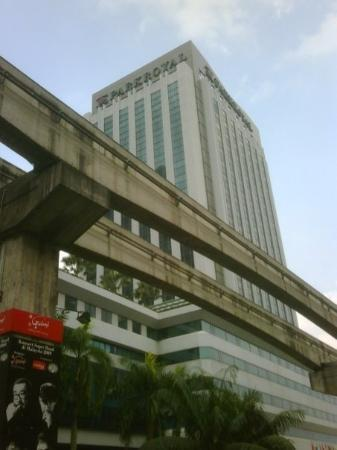 ParkRoyal Kuala Lumpur: ParkRoyal Hotel - BukitBintang Buagus bgt hotel'a