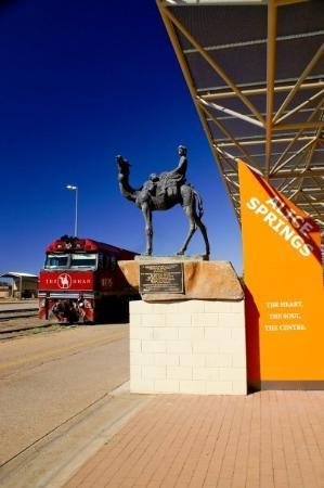 Alice Springs, Australia: The Legendary Ghan