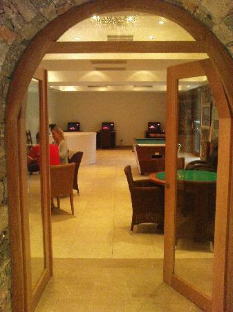 Stalis, Greece: pool table and internet access €1 = 15 minutes