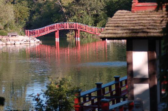 Janesville, WI: Japanese Garden at Rotary Gardens