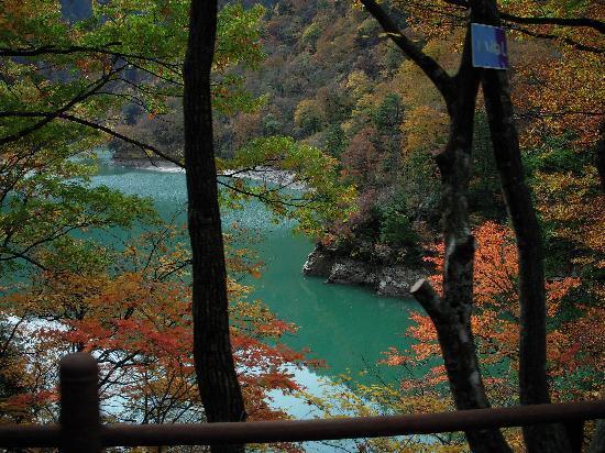 Kurobe, Japón: トロッコから撮りました