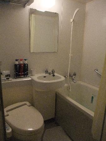 APA Villa Hotel Kyoto Ekimae: トイレお風呂