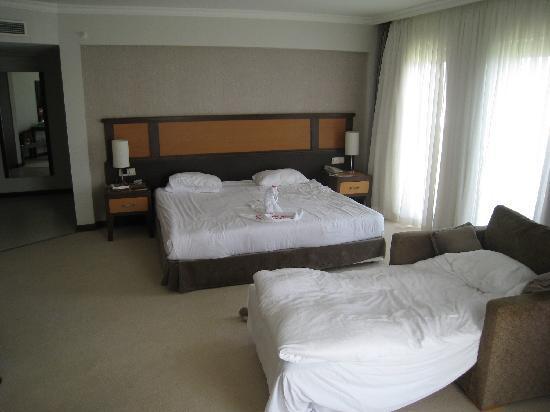 Asteria Sorgun Resort: Notre chambre