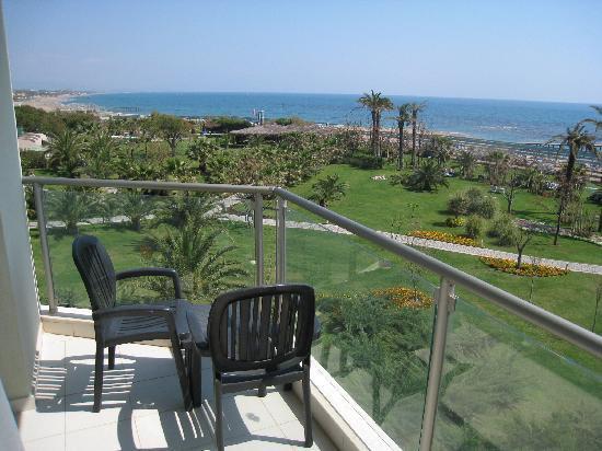 Asteria Sorgun Resort: La vue depuis notre chambre