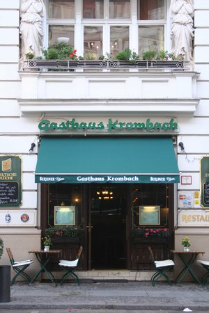 Gasthaus Krombach: Front Entrance