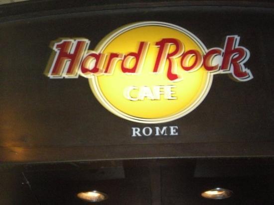 Hard Rock Cafe Rome: The Hard Rock in Rome.