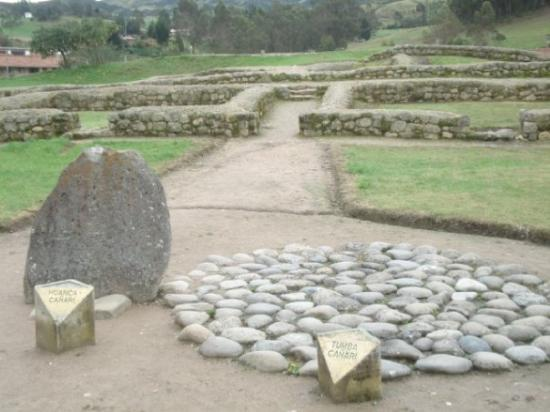 Ingapirca, Equador: Tombs