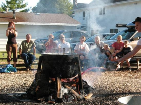 Throwing the kerosene on the fire picture of fish creek for Hilltop inn fish creek