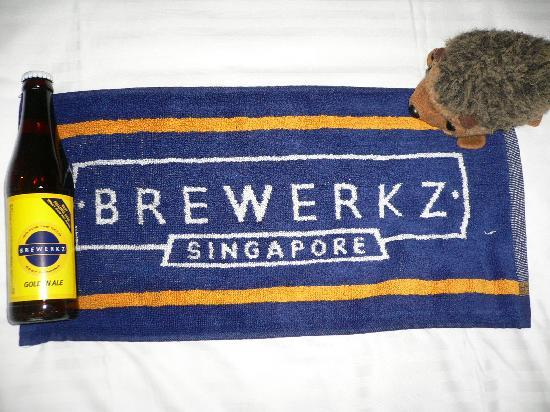 Park Hotel Clarke Quay: compulsory visit for beer lovers
