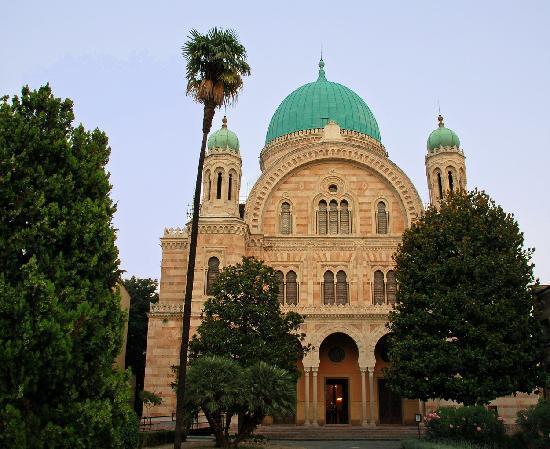 Cibrèo Ristorante: Synagogue nearby.