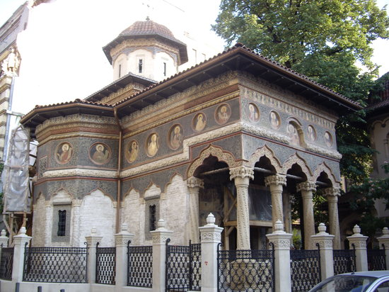 Stavropoleos-kirken (Biserica Stavropoleos)