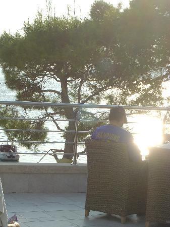 Hotel Park: roof top Makarska
