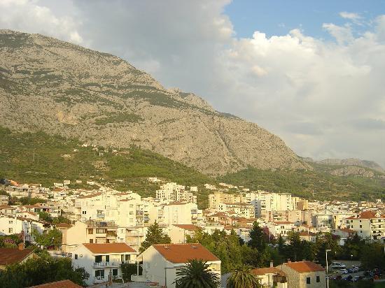 Hotel Park: Makarska town