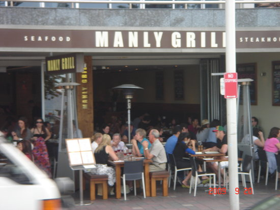 Manly Grill - a great cafe in Manly