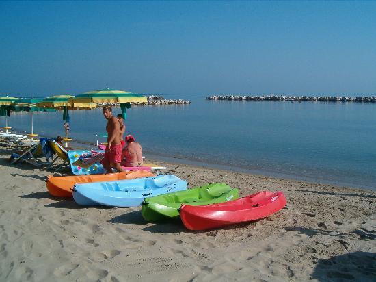 Residence Villaggio Diomedea: Hobby in spiaggia tutto gratis