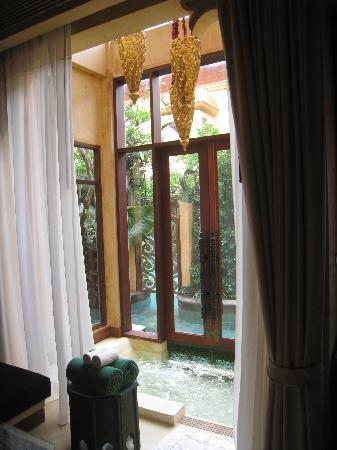 The Baray Villa: Pool/jacuzzi access