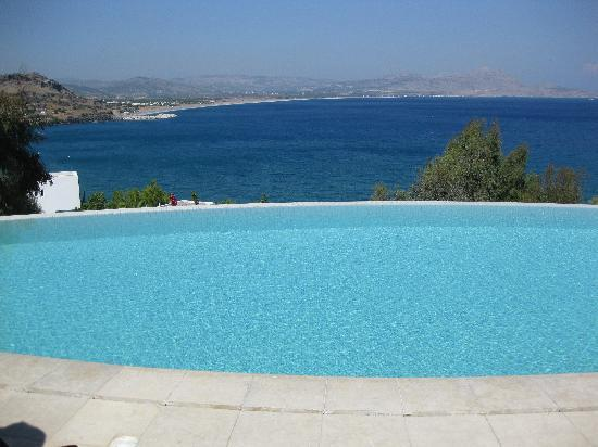 Lindos Blu: View from one of the pools