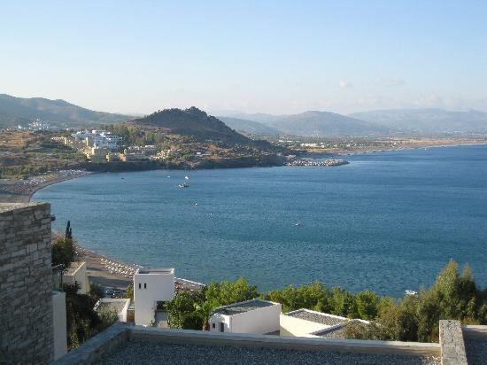 Lindos Blu: View from the room