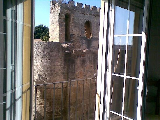 Hotel Don Alfredo: View from room window