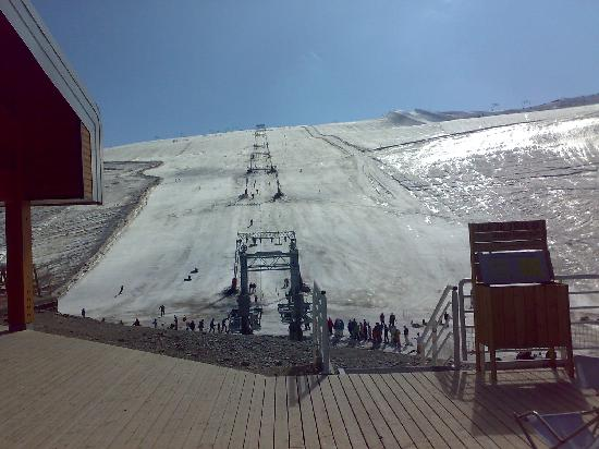 Residence Le Cortina : Scary slopes that I actually made it down