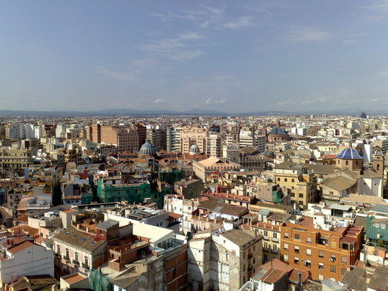 Vincci Lys: View of Valencia from Cathedral