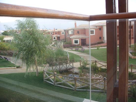 Monte Santo Resort: view from balcony