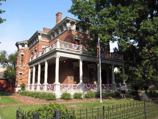 Benjamin Harrison Presidential Site: President Benjamin Harrison Home