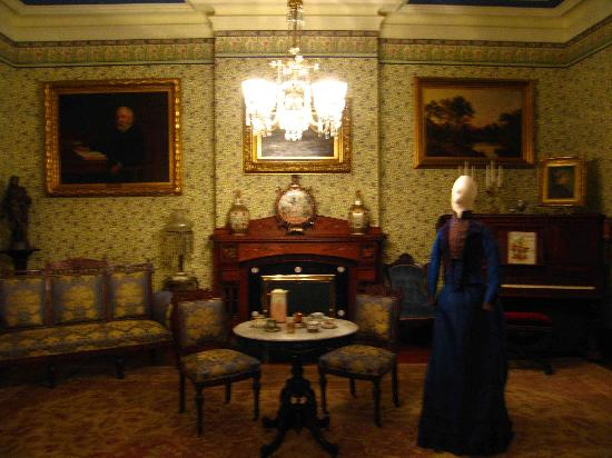 Front Parlor Picture Of Benjamin Harrison Presidential
