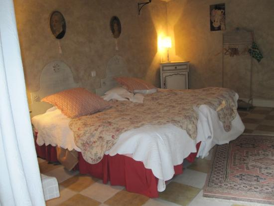 Reventin-Vaugris, France: Our room