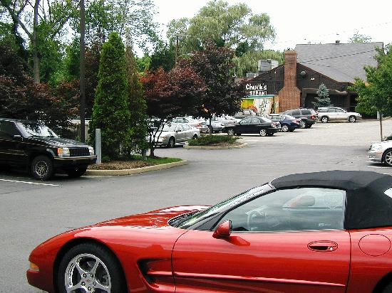Chuck's Steak House next to Residence Inn Danbury