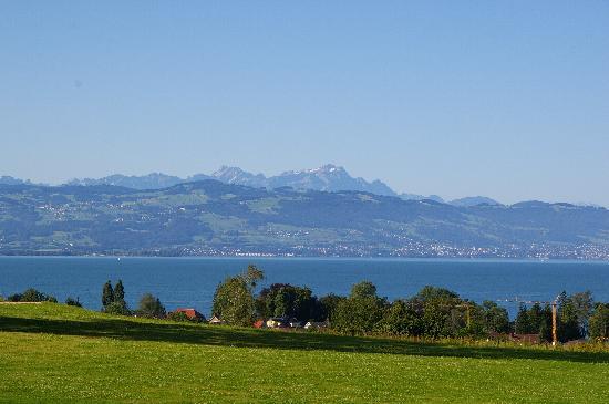 Kressbronn, Niemcy: Ausblick von Unterkunft auf Bodensee