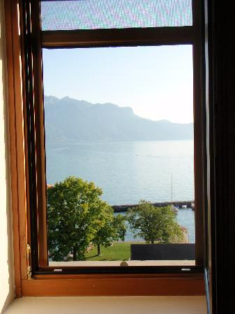 Hostellerie Bon Rivage: View from our window