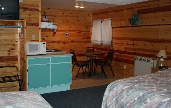 Inside Of Crater Lake Resort Cabins