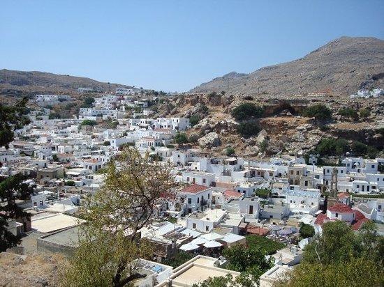 مدينة رودس صورة فوتوغرافية