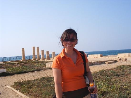 Theatre at Caesarea National Park: caesarea, israel.