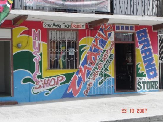 Dubique: Dominica. Music Shop.