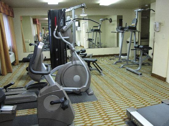 Econo Lodge: Brand-new fitness center