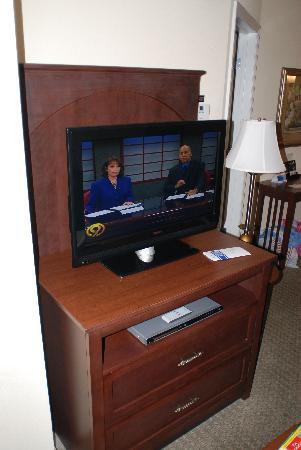 ستايبريدج سويتس تشاتانوجا: Two very nice size flat screen Tv's one in the living Area One in the Bedroom. And there is a DV