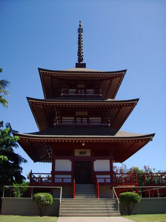 Lahaina, Havaí: Temple - Front & Ala Moana St.