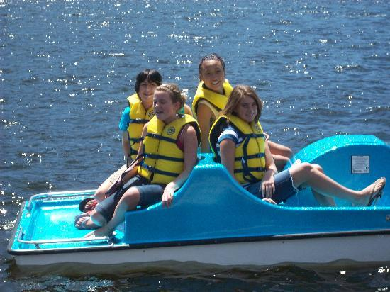 Western Riviera Lakeside Lodging & Events: A Paddle Boat Ride