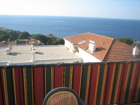 Hotel Miramar Cap D'Ail: View from balcony