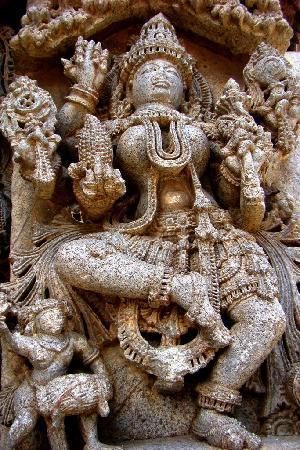 Somnathpur Temple: Somnathpura - sculpture 1