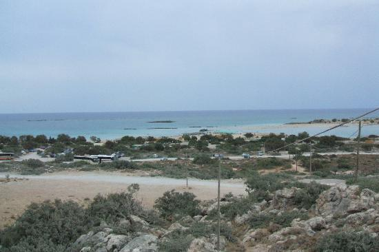 Plage d'Elafonissi : clouds over the beach